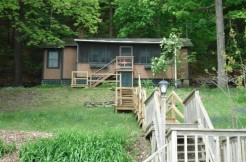Cooperstown real estate - Grinnloch Camp - Front