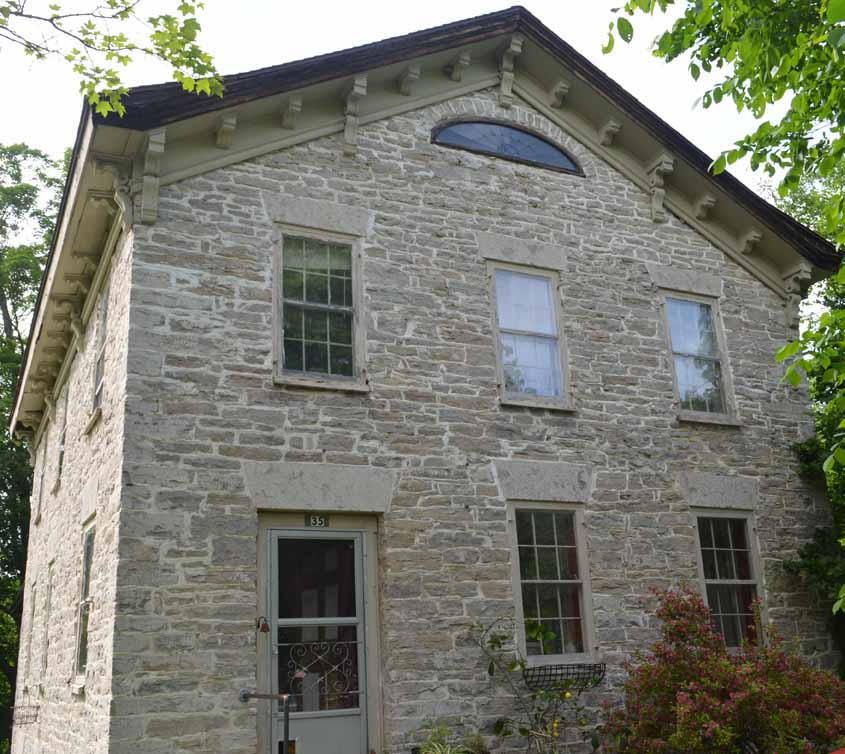 Historic Fieldstone House in Cherry Valley