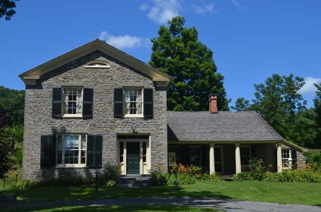 """Mapleside"" – Historic Stone House in Morris"
