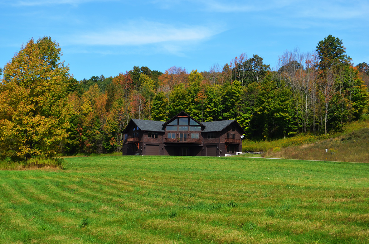 78 Acre Cooperstown Mountaintop Retreat